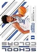 2018-19 Panini Contenders Draft Picks Basketball School Colors #3 Marvin Bagley III  Duke Blue Devils Official NBA Tradi