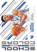 2018-19 Panini Contenders Draft Picks Basketball School Colors #11 Kevin Knox Kentucky Wildcats Official NBA Trading Ca