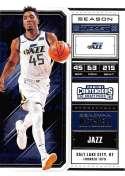 2018-19 Panini Contenders Draft Picks Basketball Season Ticket Variation #15 Donovan Mitchell Utah Jazz Official NBA Tr