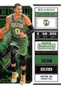 2018-19 Panini Contenders Draft Picks Basketball Season Ticket Variation #23 Jayson Tatum Boston Celtics Official NBA T