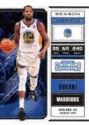 2018-19 Panini Contenders Draft Picks Basketball Season Ticket Variation #32 Kevin Durant Golden State Warriors Officia