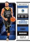 2018-19 Panini Contenders Draft Picks Basketball Season Ticket Variation #49 Stephen Curry Golden State Warriors Offici