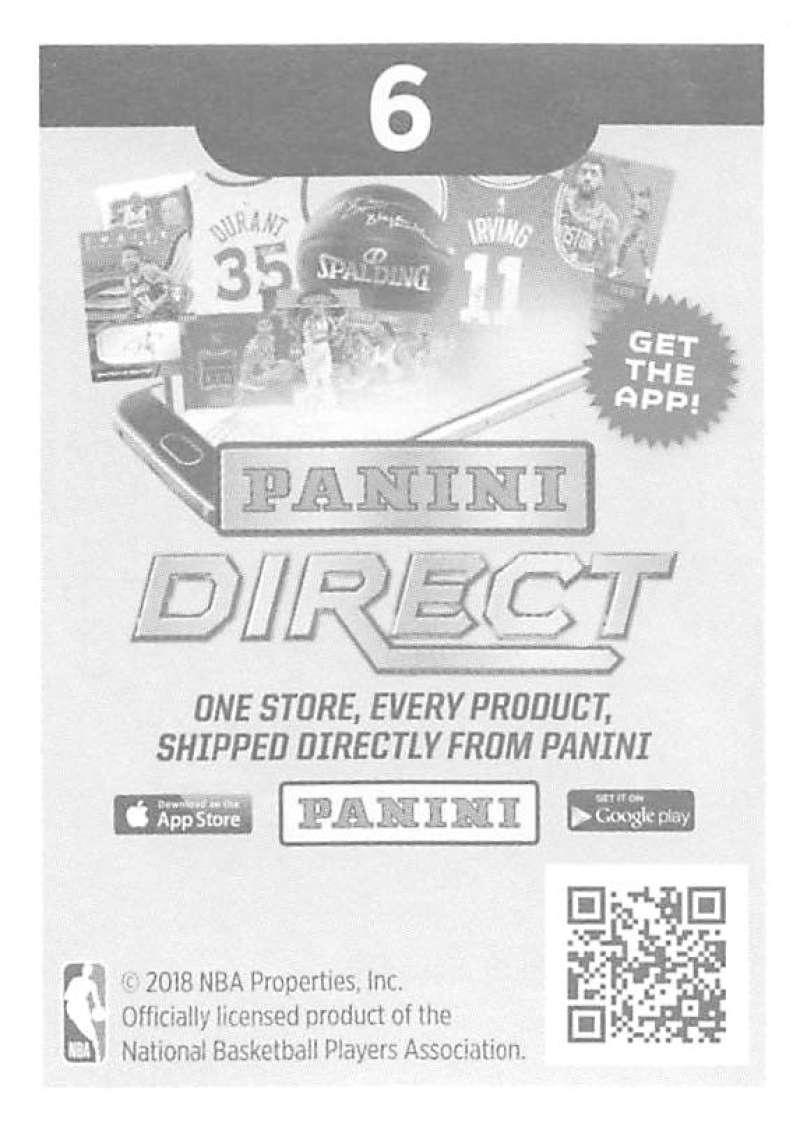 2018-19-Panini-NBA-Basketball-Sticker-Singles-1-250-Pick-Your-Sticker-Cards thumbnail 8