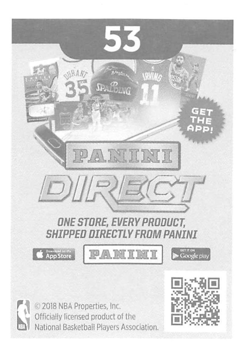 2018-19-Panini-NBA-Basketball-Sticker-Singles-1-250-Pick-Your-Sticker-Cards thumbnail 66