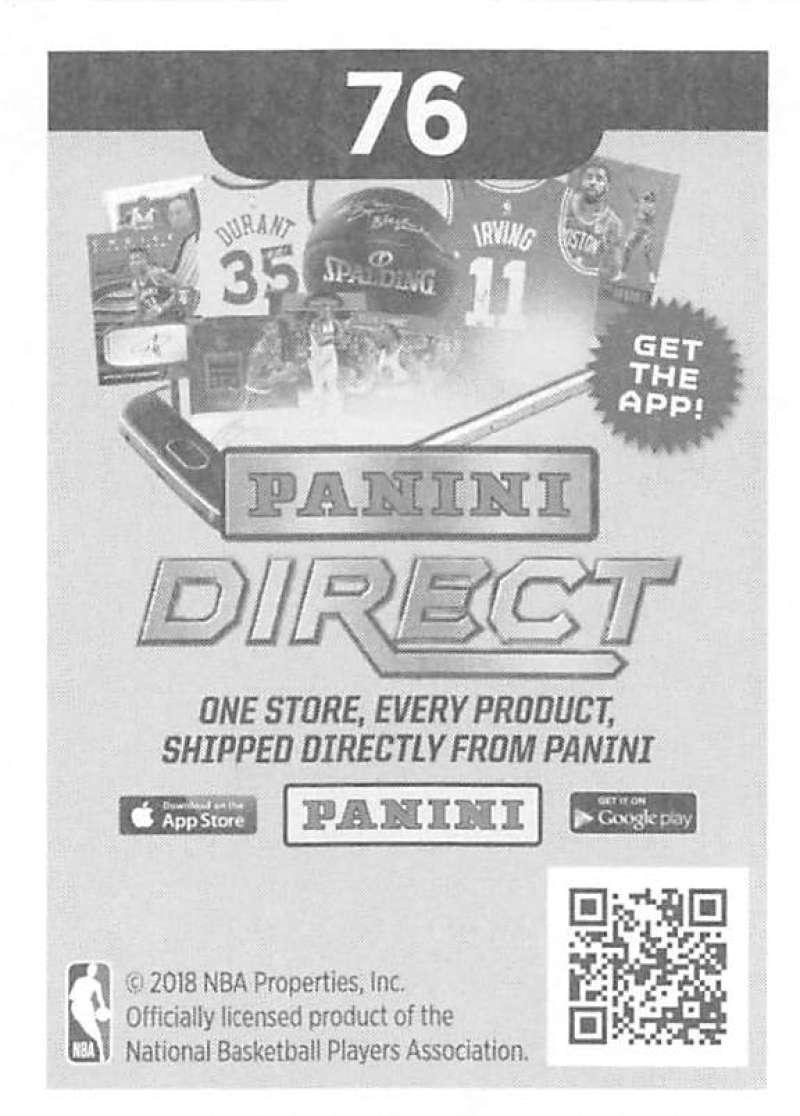 2018-19-Panini-NBA-Basketball-Sticker-Singles-1-250-Pick-Your-Sticker-Cards thumbnail 108