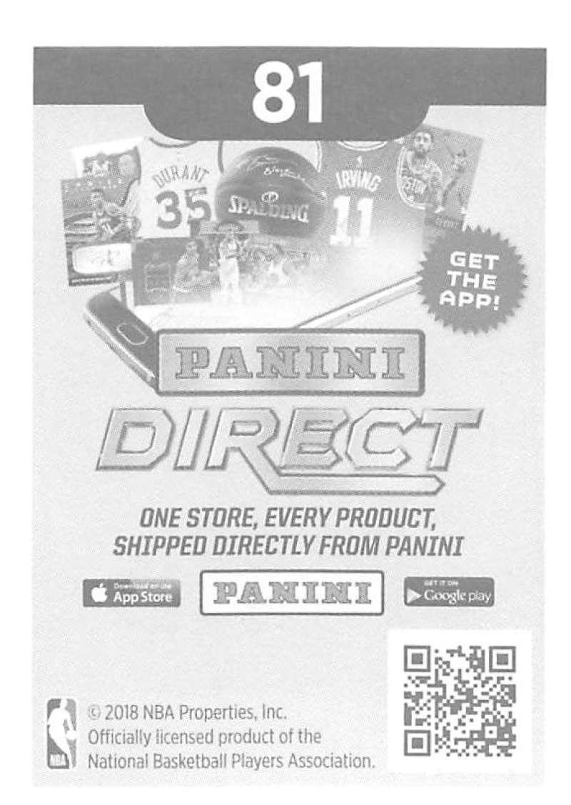 2018-19-Panini-NBA-Basketball-Sticker-Singles-1-250-Pick-Your-Sticker-Cards thumbnail 116