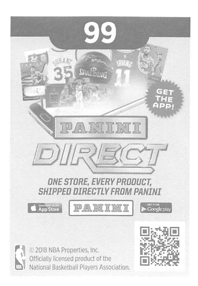 2018-19-Panini-NBA-Basketball-Sticker-Singles-1-250-Pick-Your-Sticker-Cards thumbnail 140