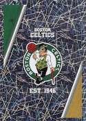 2018-19 Panini NBA Stickers Collection #23 Boston Celtics Logo Foil Boston Celtics Official Basketball Sticker (2 in x 2.75 in)