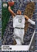 2018-19 Panini NBA Stickers Collection #24 Jayson Tatum Foil Boston Celtics Official Basketball Sticker (2 in x 2.75 in)