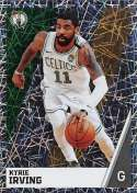 2018-19 Panini NBA Stickers Collection #26 Kyrie Irving Foil Boston Celtics Official Basketball Sticker (2 in x 2.75 in)