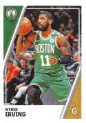 2018-19 Panini NBA Stickers Collection #28 Kyrie Irving Boston Celtics Official Basketball Sticker (2 in x 2.75 in)