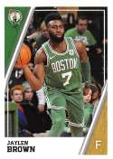 2018-19 Panini NBA Stickers Collection #29 Jaylen Brown Boston Celtics Official Basketball Sticker (2 in x 2.75 in)