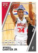 2018-19 Panini NBA Stickers Collection #74 Wendell Carter Jr. RC Rookie Card Chicago Bulls Official Basketball Sticker (2 in x 2.75 in)