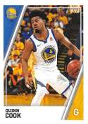 2018-19 Panini NBA Stickers Collection #242 Quinn Cook Golden State Warriors Official Basketball Sticker (2 in x 2.75 in)