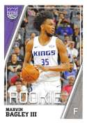 2018-19 Panini NBA Stickers Collection #371 Marvin Bagley III RC Rookie Card Sacramento Kings Official Basketball Sticker (2 in x 2.75 in)