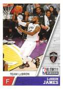 2018-19 Panini NBA Stickers Collection #414 LeBron James Team LeBron Cleveland Cavaliers Official Basketball Sticker (2 in x 2.75 in)
