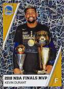 2018-19 Panini NBA Stickers Collection #459 Kevin Durant Finals MVP Foil Golden State Warriors Official Basketball Sticker (2 in x 2.75 in)