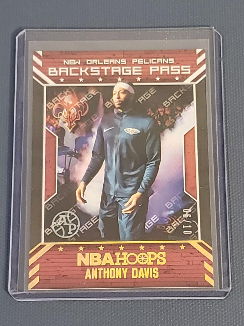 2018-19 Panini Hoops Back Stage Pass Artist Proof Gold