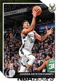 2018-19 Panini Hoops #4 Giannis Antetokounmpo NM-MT Milwaukee Bucks