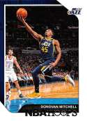 2018-19 Panini Hoops #90 Donovan Mitchell NM-MT Utah Jazz