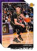 2018-19 Panini Hoops #165 Lonzo Ball NM-MT Los Angeles Lakers