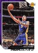 2018-19 Panini Hoops #175 Kyle Kuzma NM-MT Los Angeles Lakers