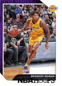 2018-19 Panini Hoops #185 Brandon Ingram NM-MT Los Angeles Lakers