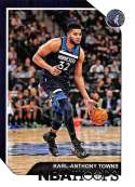 2018-19 Panini Hoops #190 Karl-Anthony Towns NM-MT Minnesota Timberwolves