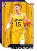 2018-19 Panini Hoops #249 Moritz Wagner NM-MT Los Angeles Lakers