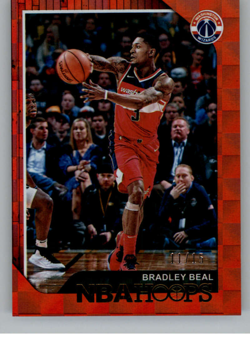2018-19 Panini Hoops Red Checkerboard