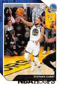 2018-19 NBA Hoops Winter Holiday #15 Stephen Curry Golden State Warriors  Official Panini Basketball Card