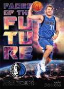 2018-19 NBA Hoops Faces of the Future #3 Luka Doncic Dallas Mavericks  Rookie RC Official Trading Card made by Panini