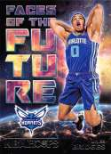 2018-19 NBA Hoops Faces of the Future #12 Miles Bridges Charlotte Hornets  Rookie RC Official Trading Card made by Panini