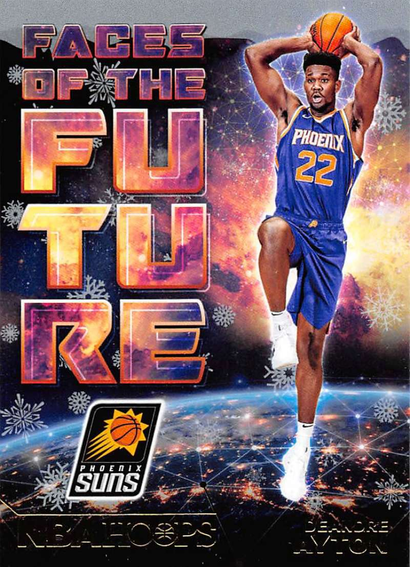2018-19 Panini Hoops Faces of the Future Winter