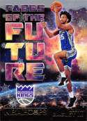 2018-19 NBA Hoops Holiday Faces of the Future #2 Marvin Bagley III Sacramento Kings  RC Rookie Basketball Card made by Panini