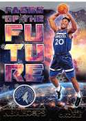 2018-19 NBA Hoops Winter Holiday Faces of the Future #20 Josh Okogie Minnesota Timberwolves  RC Rookie Basketball Card made by Panini