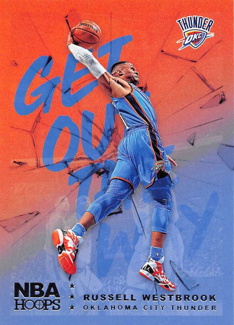 2018-19 Panini Hoops Get Out The Way
