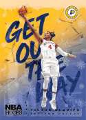2018-19 NBA Hoops Winter Holiday Get Out The Way #20 Victor Oladipo Indiana Pacers  Official Panini Basketball Card