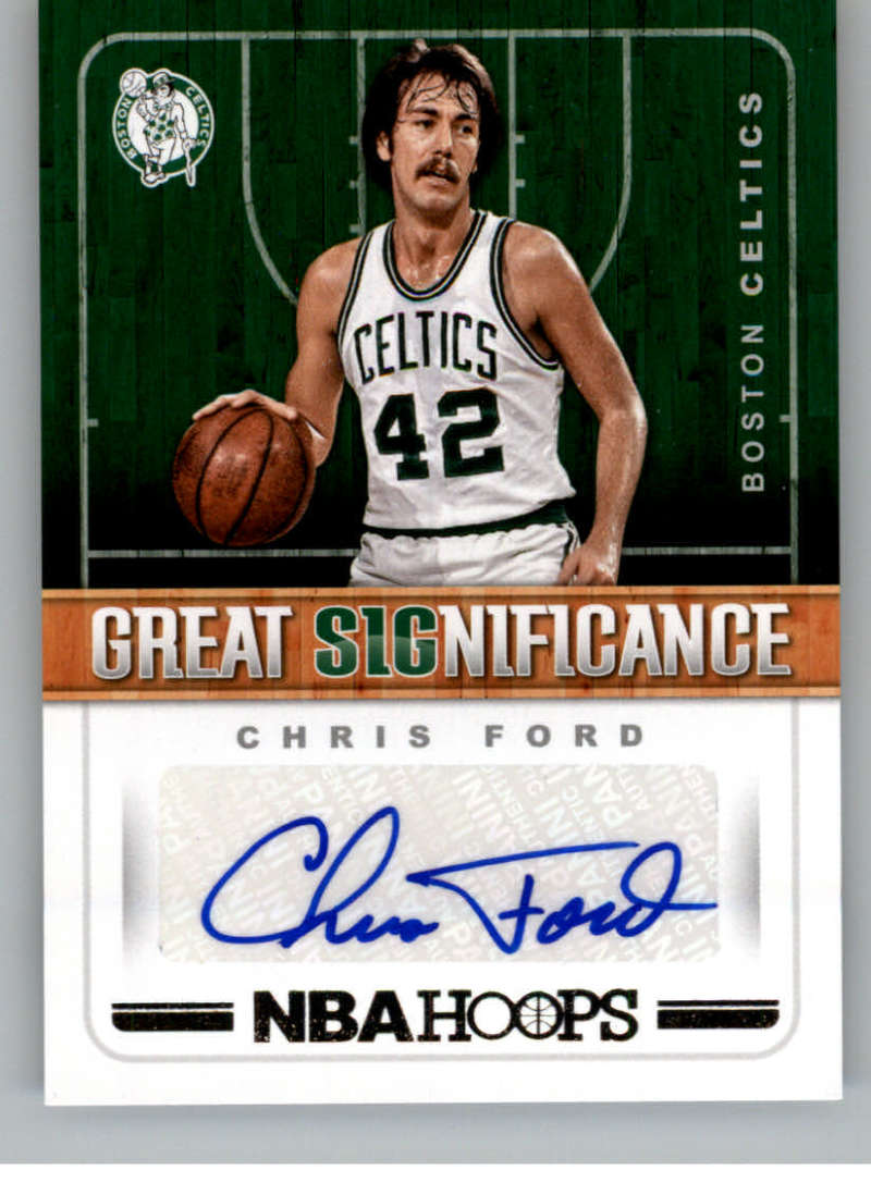 2018-19 Panini Hoops Great SIGnificance