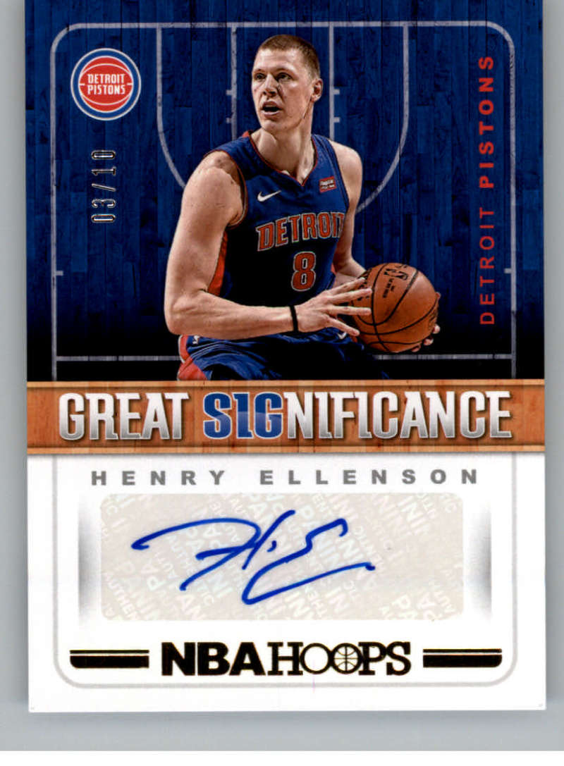 2018-19 Panini Hoops Great SIGnificance Gold