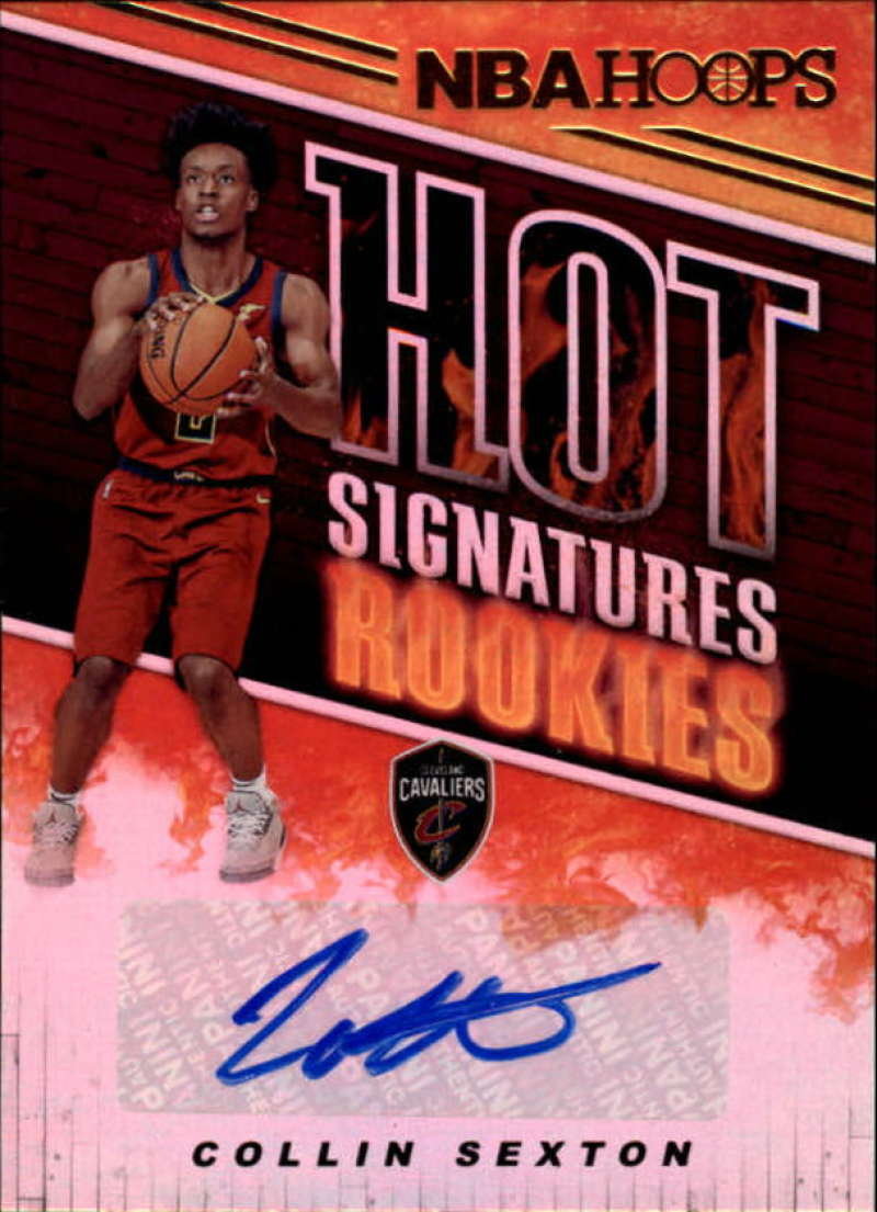 2018-19 Panini Hoops Hot Signatures Rookies
