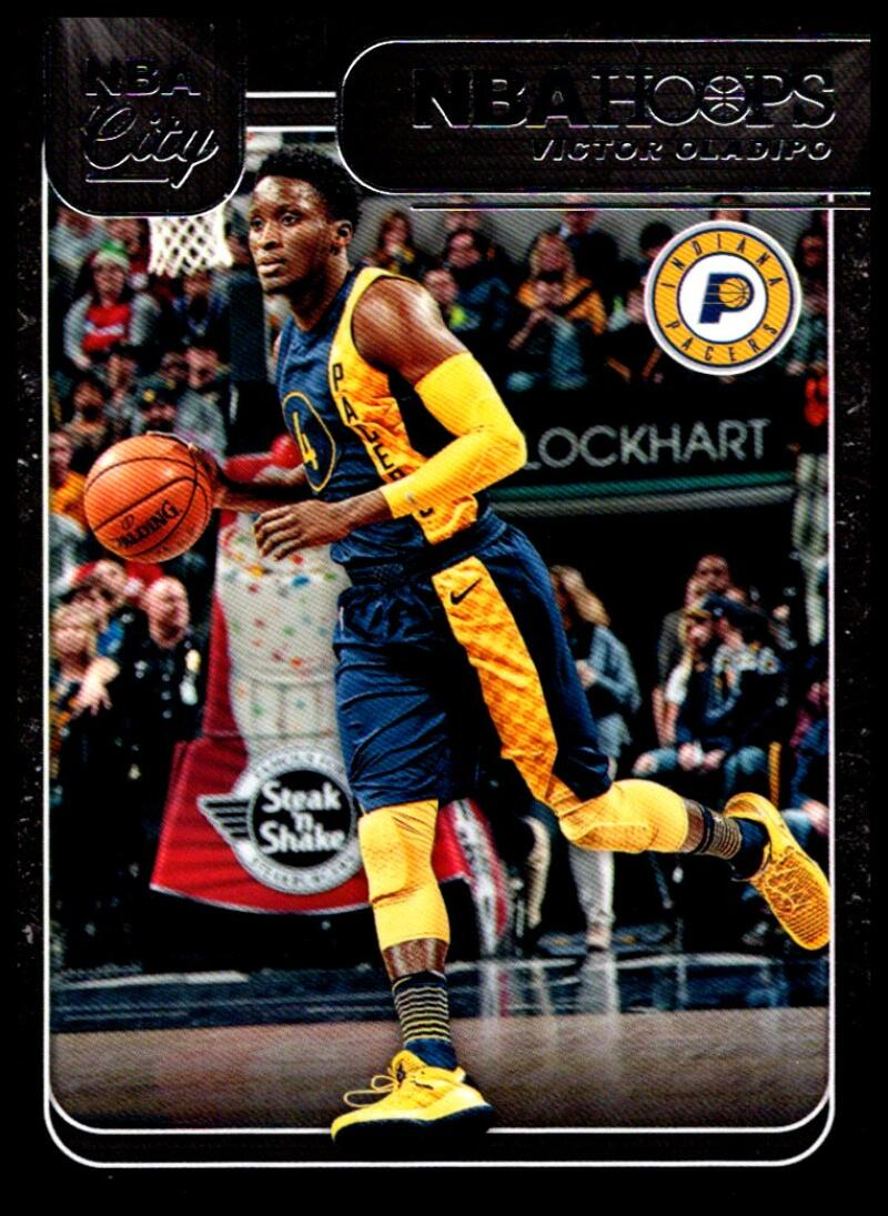 2018-19 Panini Hoops NBA City #27 Victor Oladipo NM-MT+ Indiana Pacers