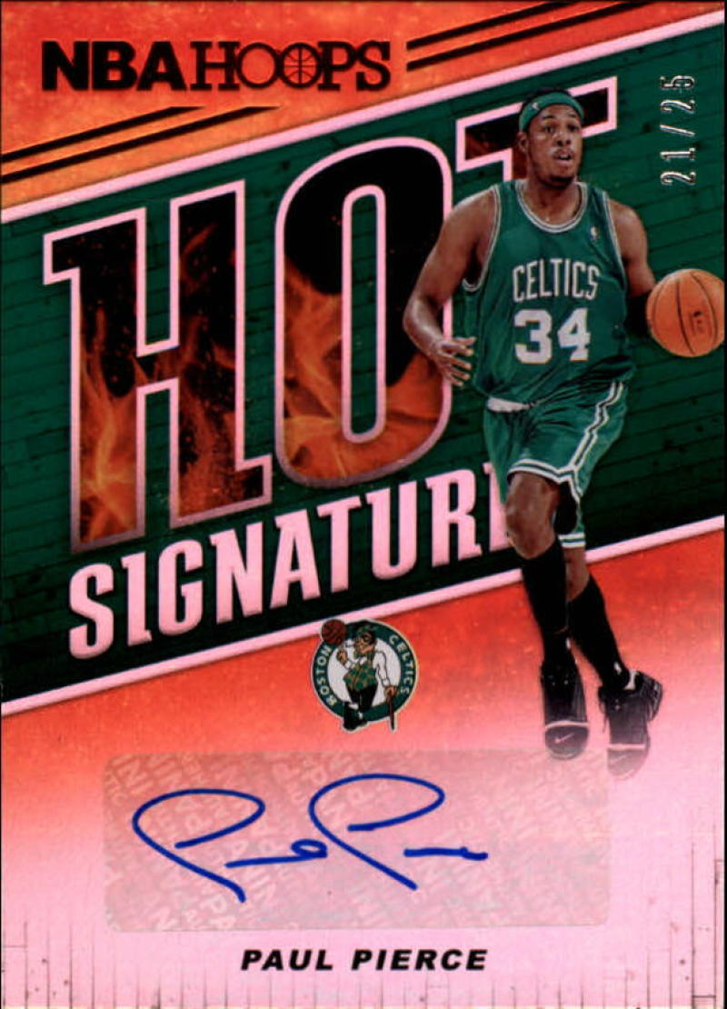 2018-19 Panini Hoops Red Hot Signatures