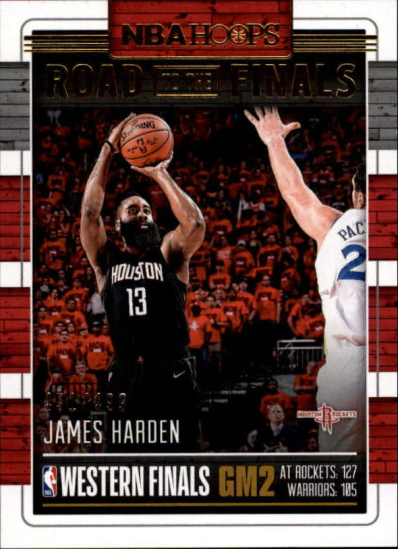 2018-19 Panini Hoops Road to the Finals Conference Finals