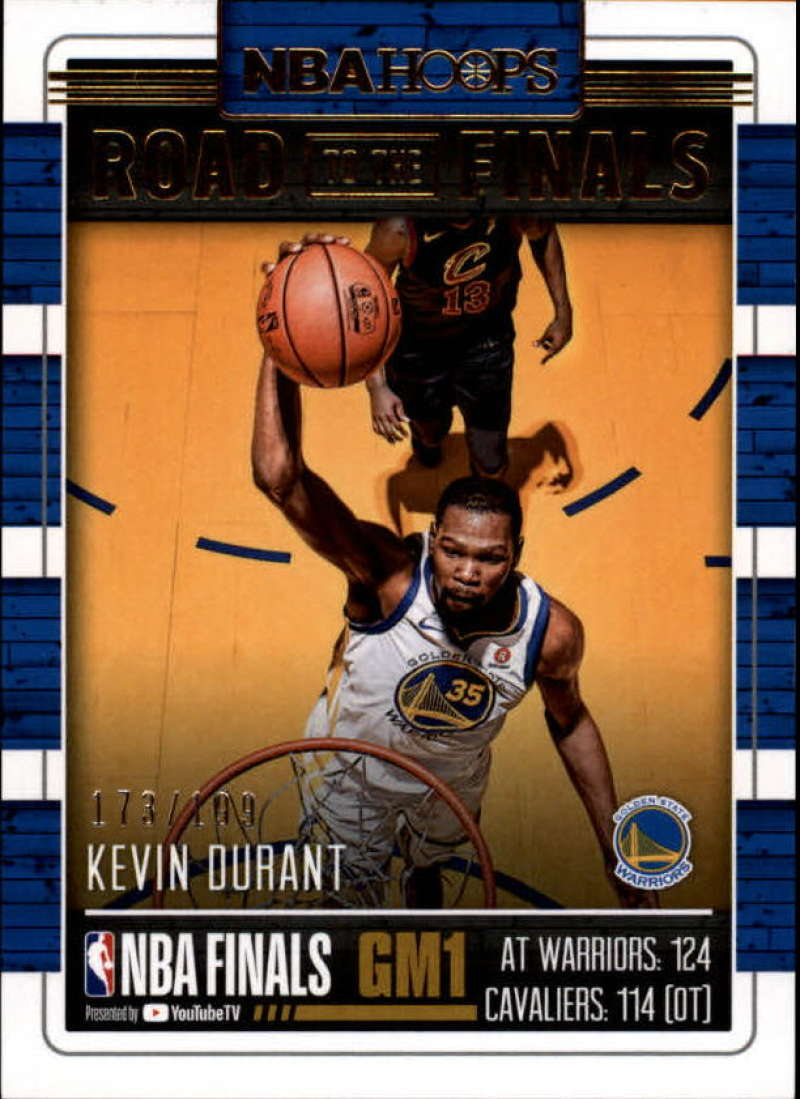 2018-19 Panini Hoops Road to the Finals NBA Championship