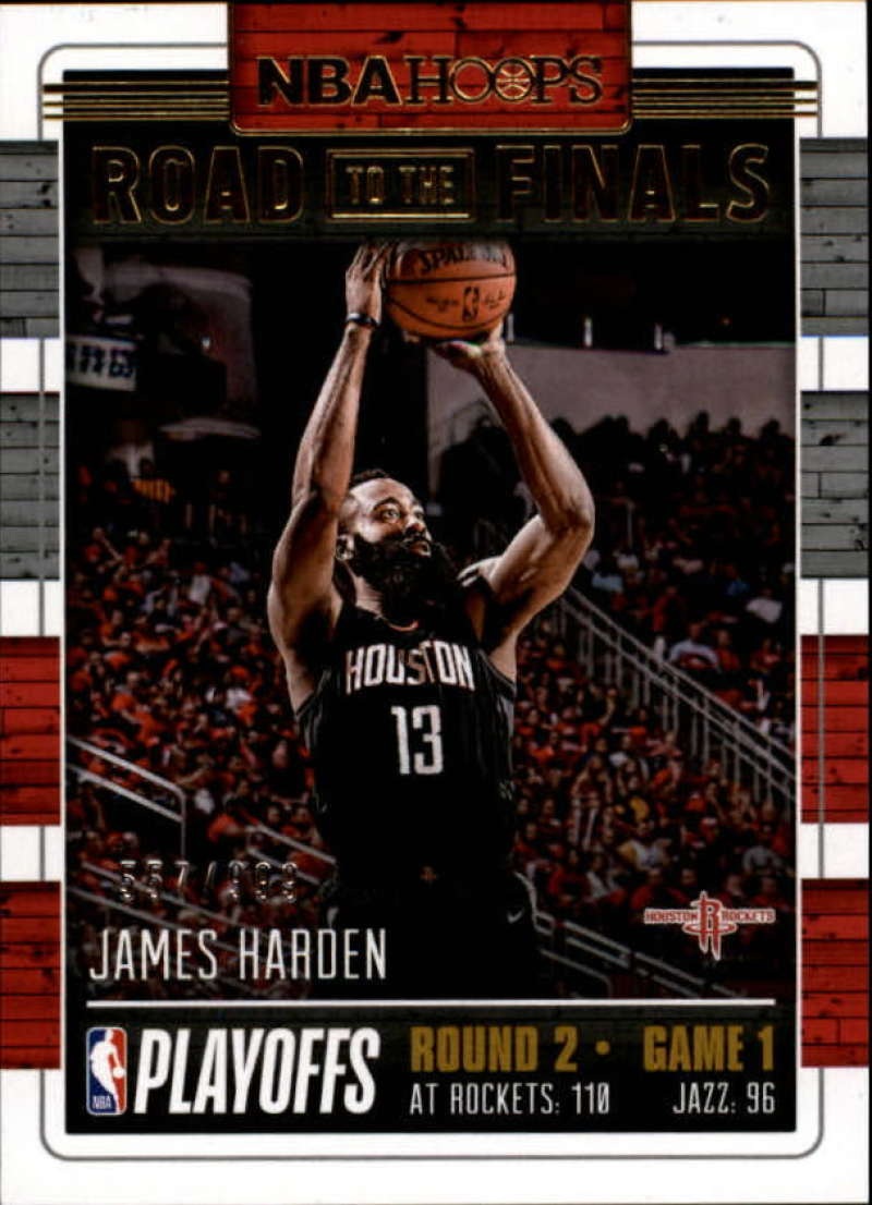 2018-19 Panini Hoops Road to the Finals Second Round