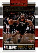 2018-19 NBA Hoops Road to the Finals Second Round #62 Chris Paul /999 Houston Rockets  Panini Basketball Trading Card