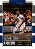 2018-19 NBA Hoops Road to the Finals Second Round #63 Draymond Green /999 Golden State Warriors  Panini Basketball Trading Card