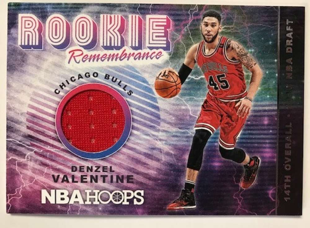 2018-19 Panini Hoops Rookie Remembrance