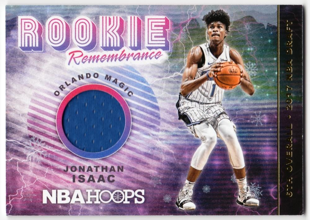 2018-19 Panini Hoops Rookie Remembrance Winter